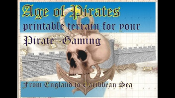 Ages of Pirates Printable Tabletop Terrain