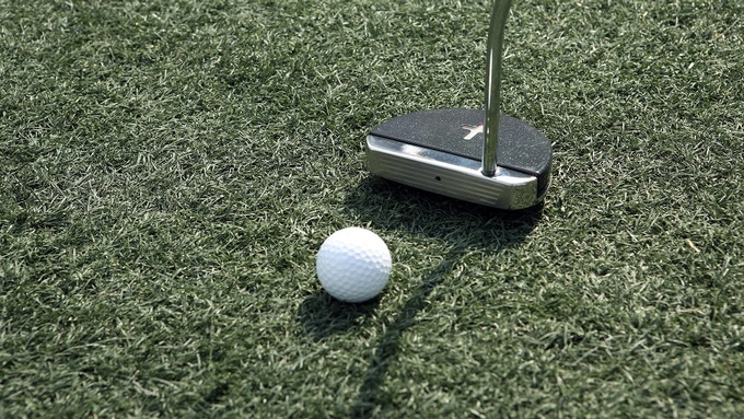 An effective putter even with LED/Laser turned off
