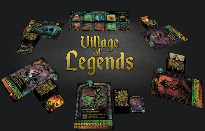 Village Of Legends Fantasy Deck Building Game