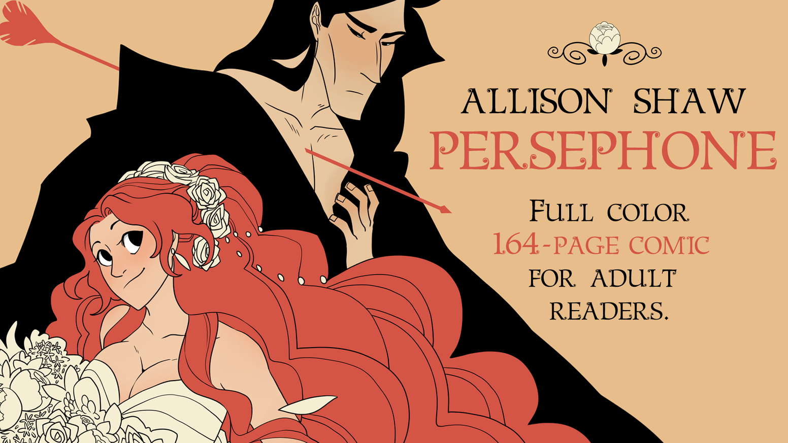 Sensual and inspired comic retelling of the classic Greek romance of Hades and Persephone.Now available on the Hivemill!
