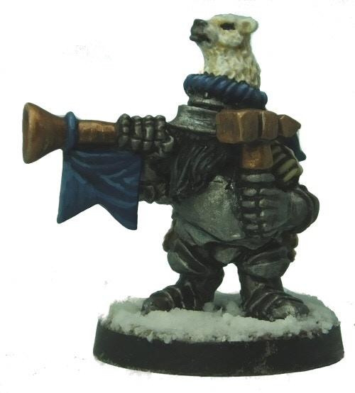 Bear Knight Musician