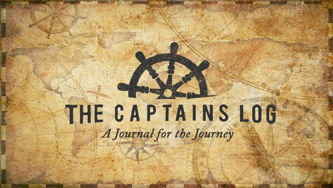 The Captains Log: A journal for life's journey by Kieran ...
