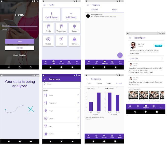 TrackDat Android App