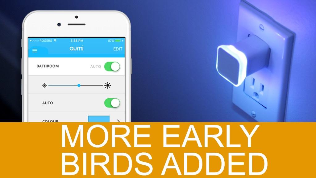Aumi Mini - A smart notification light & nightlight project video thumbnail