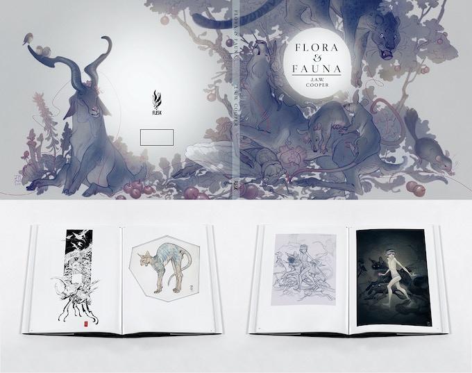 Flora & Fauna book design in progress.