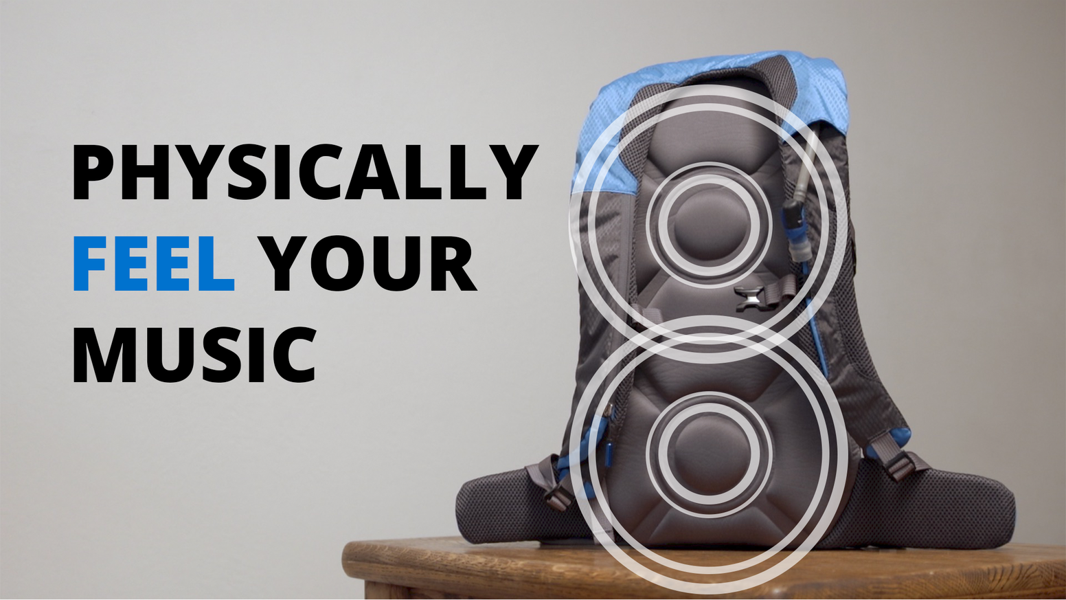 Baserock is an insert for a backpack that allows you to feel the music that you are listening to, both at a live show, or with your phone and headphones. Use coupon code 10KS for a 10% discount on our website!