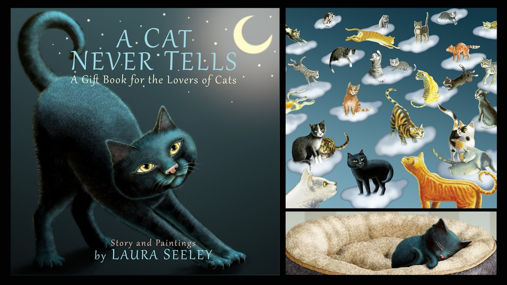 """""""A CAT NEVER TELLS"""" A Gift Book for the Lovers of Cats project video thumbnail"""