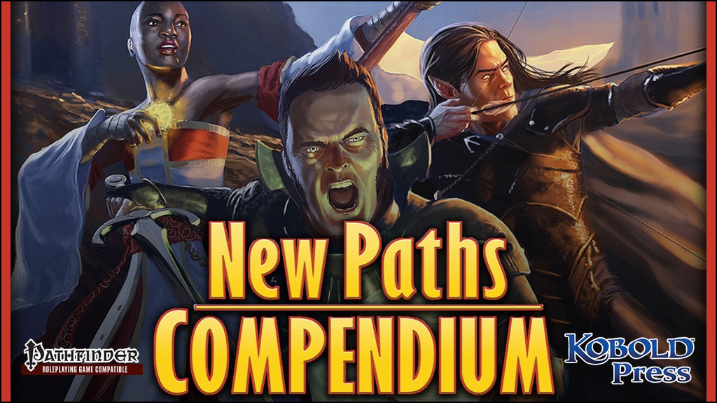 New Paths Compendium: Pathfinder RPG Expanded Edition project video thumbnail