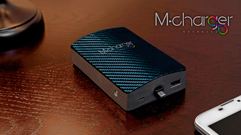 M-Charger Advanced | The world's first rechargeable charger