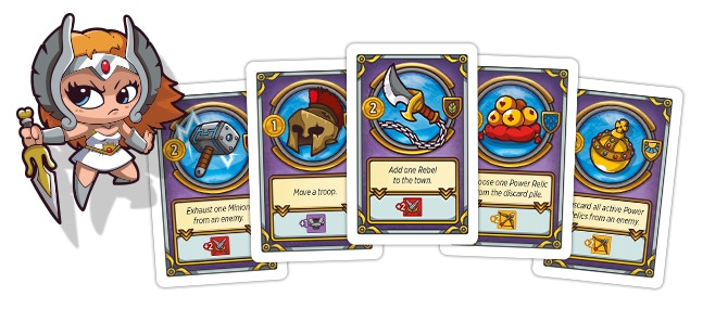 Power Relics: Activate as many Power Relics from your hand as you like