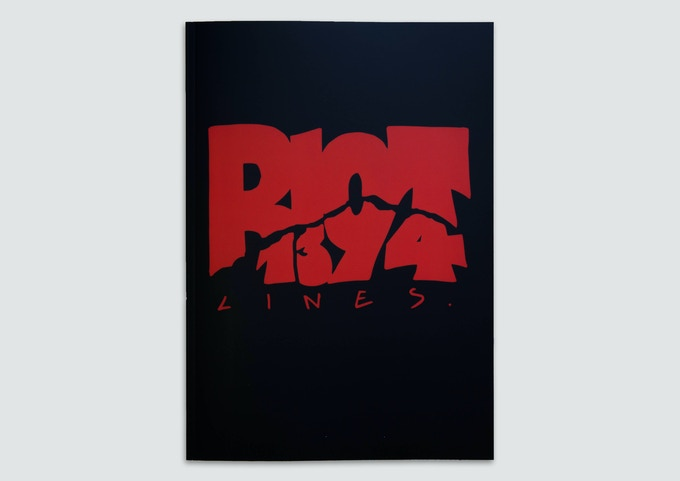 RIOT1394-Lines first book from 2015