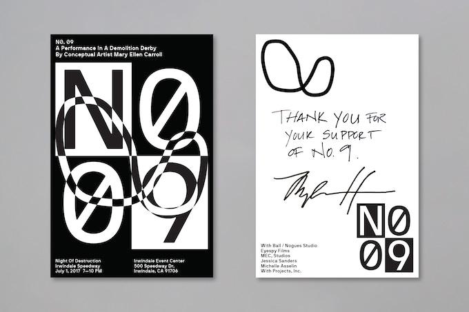 Contribute $15 or more and receive a No. 9 postcard with a personal note as a thank you