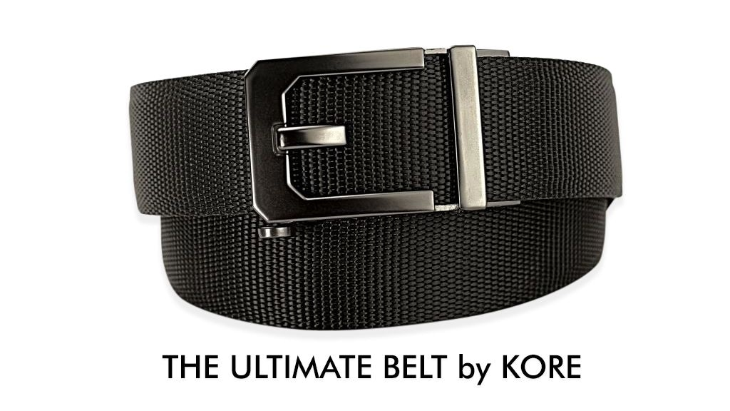 Ultimate Belt Kore Essentials By Karl Kozak Kickstarter Kore edc gun belts feature a hidden micro adjustable track with 40+ sizing positions. ultimate belt kore essentials by karl