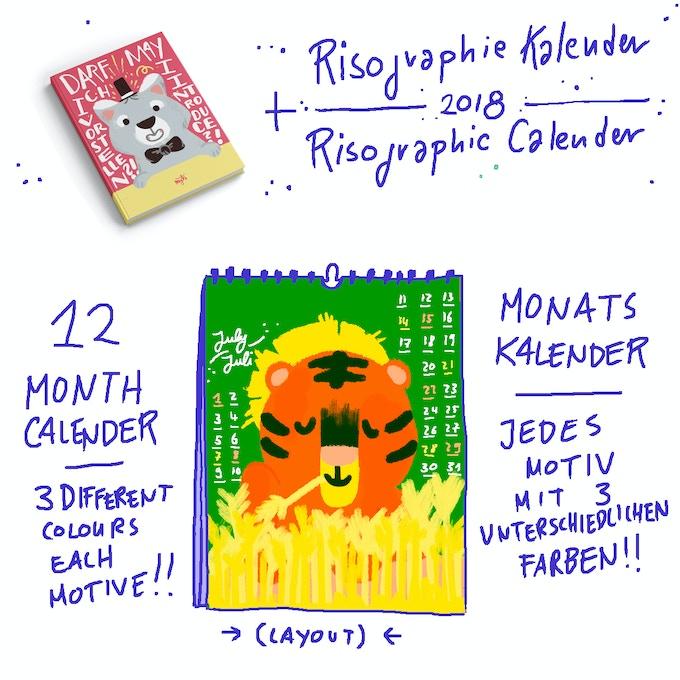 Limitiert auf 50 Stück - Kalender noch in der Mache // Limited edition of 50 - Calender still in progress