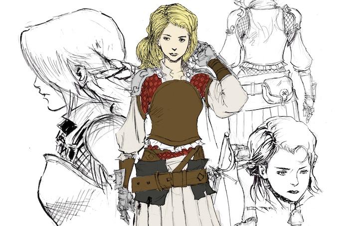 Character Sketch - Kelda