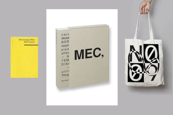 Contribute $150 or more for the out of print, MEC, Steidl/Mack monograph, 100 German Men, and the No. 9 SCHWAG BAG