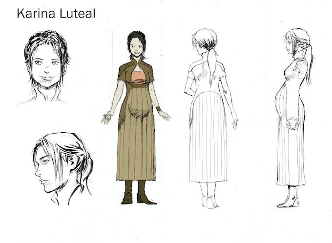Original Sketches - Karina