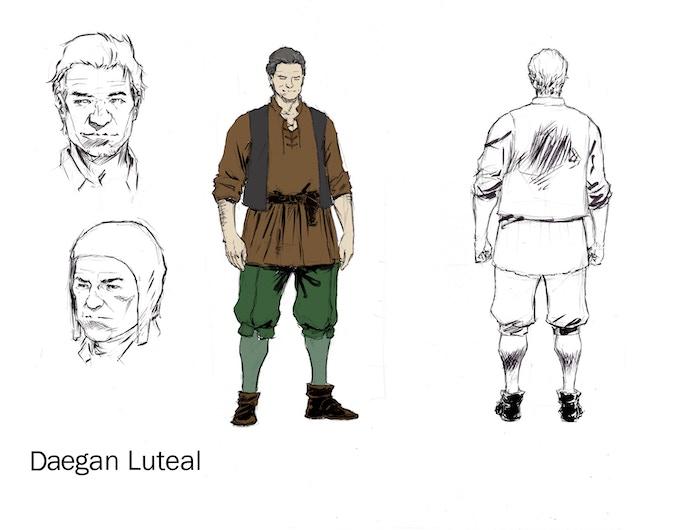 Original Design - Daegan