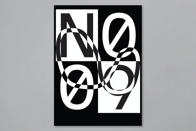 Contribute $900 or more the No. 9 — Silkscreen Print with Brand X Editions