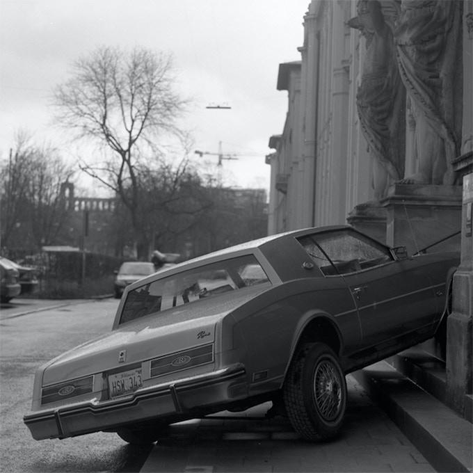 LATE (2004/2005) The 1985 Buick Riviera crashed into the Museum für Völkerkunde, Munich, Germany