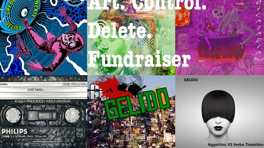 Art. Control. Delete. Album by Gelido Mastering Costs project video thumbnail
