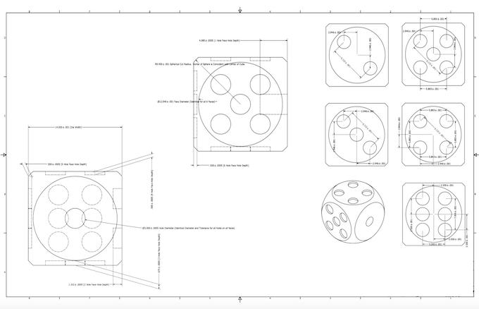 2D Spec Sheet Drawings