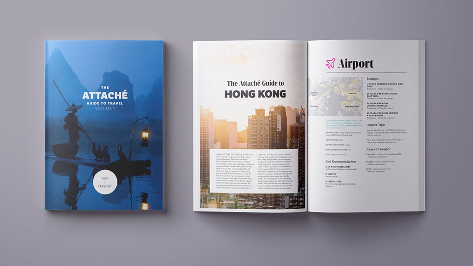 A beautifully designed travel guide book from the team behind the award-winning travel show Attaché. Order your copy today.