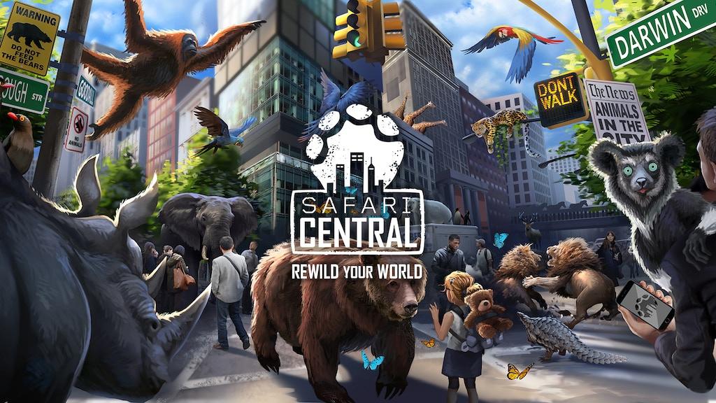 Safari Central - Rewild your World project video thumbnail