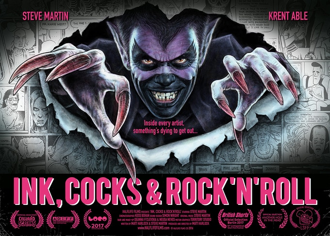 Festival hit film Ink, Cocks & Rock'n'Roll