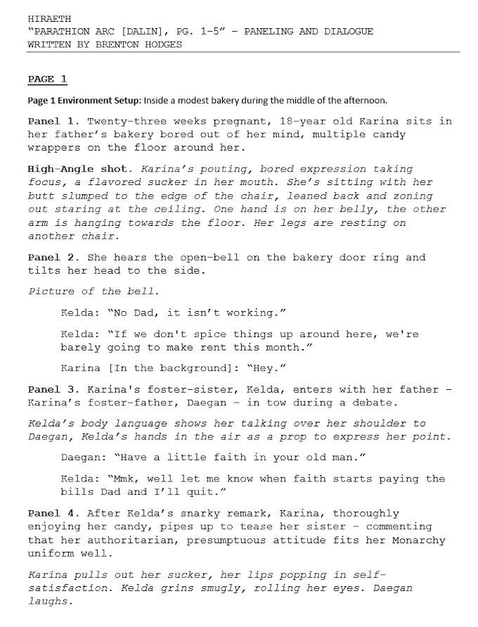 Page 1 Script
