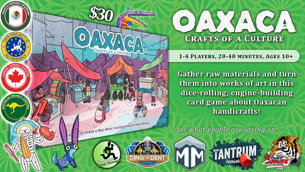Oaxaca: A Dice-Rolling, Engine-Building Card Game project video thumbnail