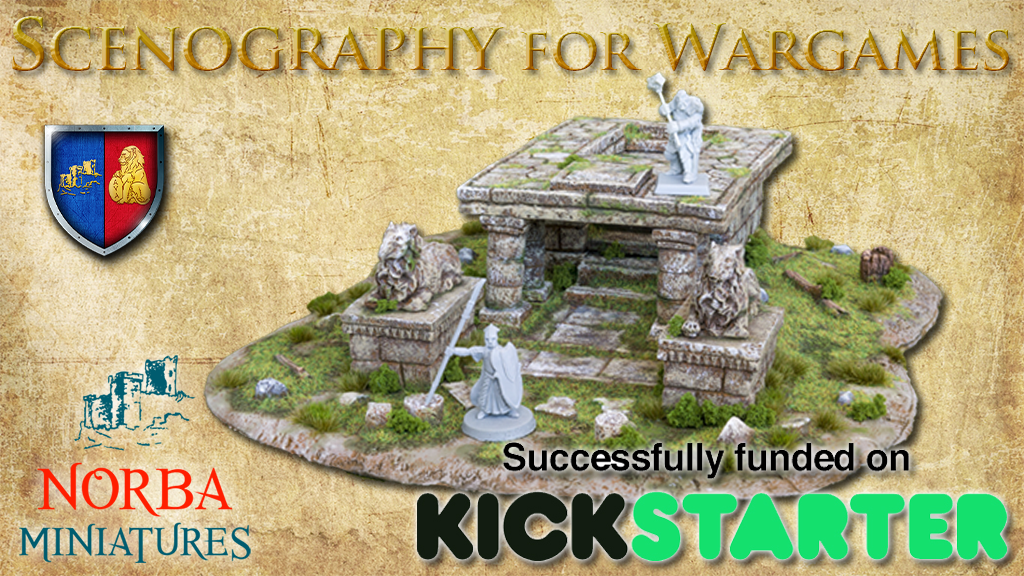 Scenography for Wargames by Norba Miniatures, 28mm, terrain project video thumbnail