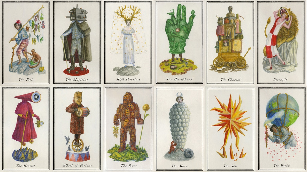 Carnival at the End of World Tarot Deck project video thumbnail