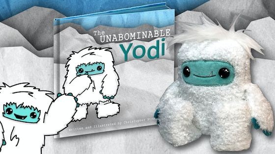 THE UNABOMINABLE YODI: Children's Book and Plush Toy