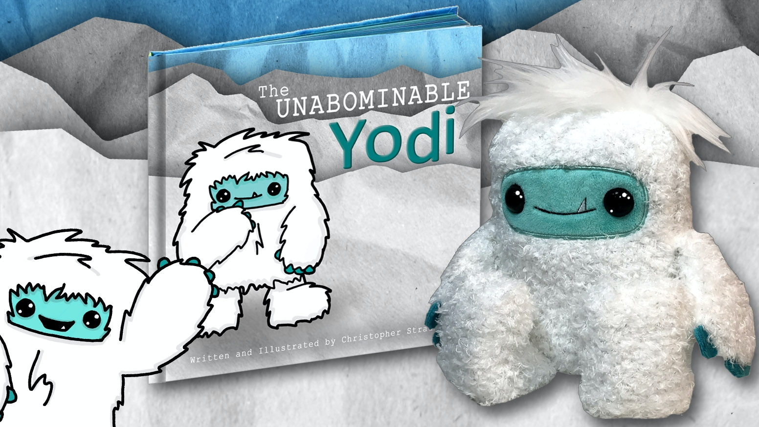 """From the creator of ALBERT THE CONFUSED MANATEE, """"Yodi"""" is a lovable yeti who wants to do good things, unlike his abominable brothers."""