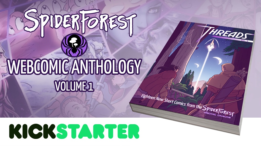 SpiderForest Webcomic Anthology project video thumbnail