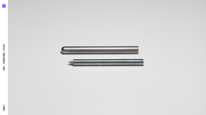 Titanium Pen Type-B Sleeve and Pen