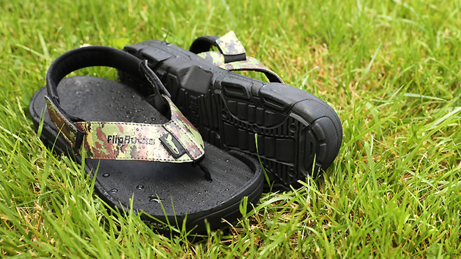 The World's First Interchangeable, Replaceable Flip Flop Soles For Various Outdoor Activities - Hiking, Fishing, Kayaking, Walking...