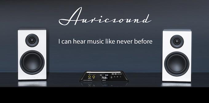AuricSound Twin ESS SABRE® 32bit ES9028Q2M 768kHz DSD512 DAC