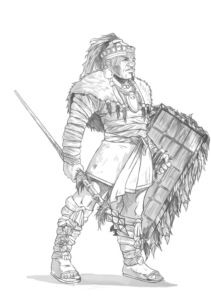 Mayan Holcan Professional Soldier