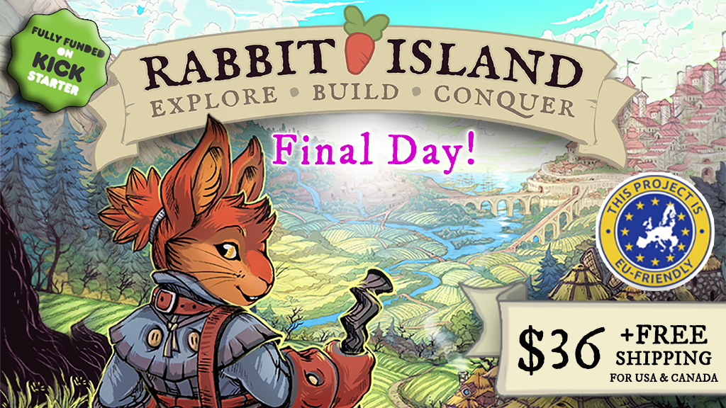 Rabbit Island: Explore, Build, Conquer! project video thumbnail