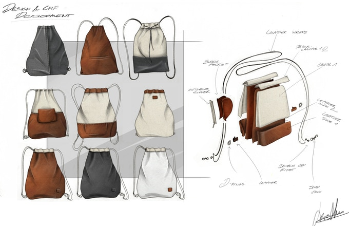 Initial Design and Colour, Material and Finish Exploration