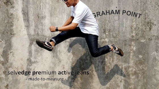 Graham Point : Premium Active Jeans Made-To-Measure