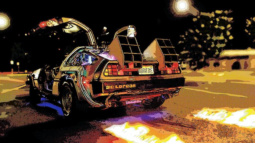 Back to the Future: Adventures in a Delorean Time Machine ...