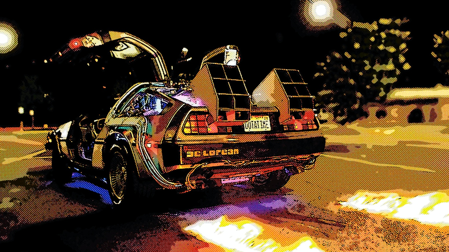 Back to the Future: Adventures in a Delorean Time Machine