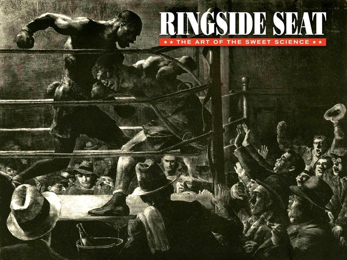 RINGSIDE SEAT is a new twist in boxing journalism. It combines erudite prose, evocative graphics, & interactive video links.