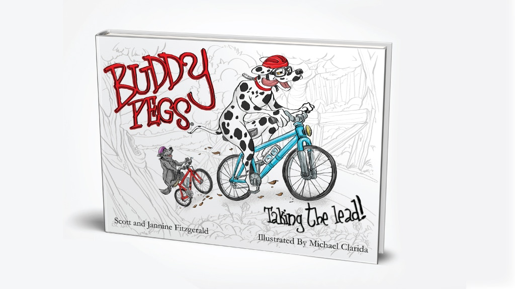 Buddy Pegs Taking the Lead - an Illustrated Children's Book project video thumbnail