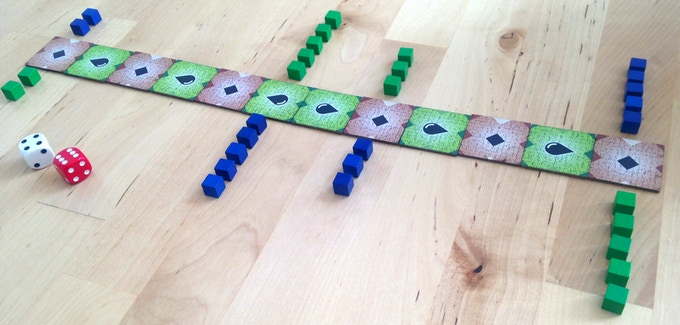 One of the truly great ancient games still widely played today. The game perfectly balances luck and skill, making it accessible and enjoyable to perhaps an even greater audience than chess.