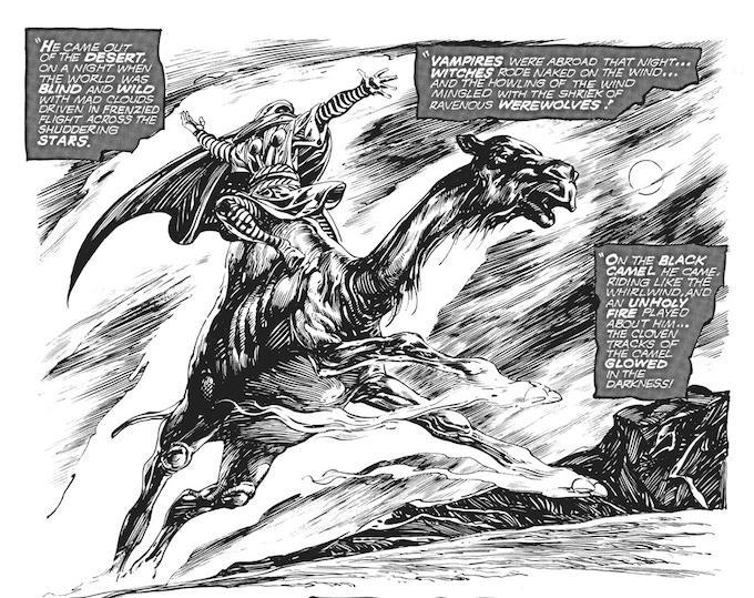 Natohk the Veiled One, from Savage Sword of Conan #2 (Marvel Comics, 1974).