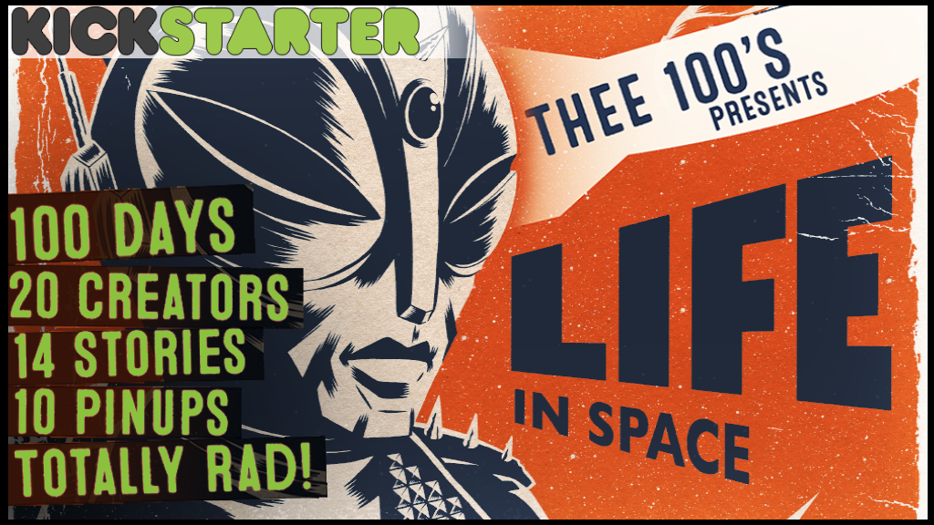 Life in Space - A Comic Book Anthology project video thumbnail